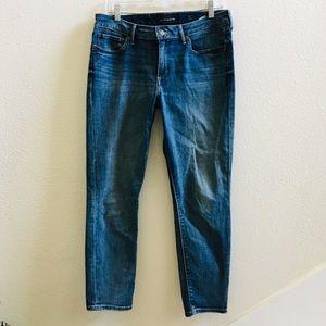 LUCKY BRAND Lolita crop skinny jeans 10/30